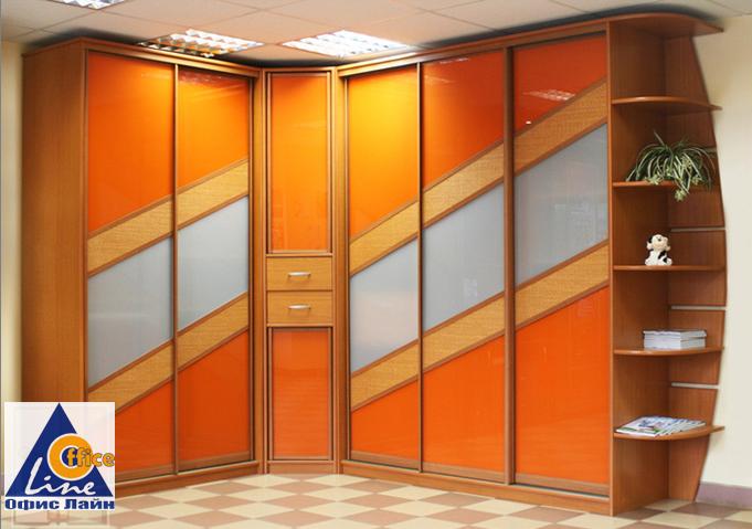 Угловые шкафы-купе в санкт-петербурге.