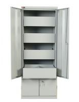 Шкаф картотечный металлический КД-514-Д