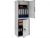 Металлический шкаф бухгалтерский ПРАКТИК SL-125/2Т