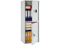 Металлический шкаф бухгалтерский ПРАКТИК SL-125/2Т EL