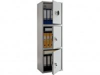 Металлический шкаф бухгалтерский ПРАКТИК SL-150/3Т EL