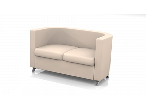 Двухместный офисный диван ERGO