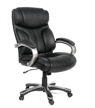 Кресло руководителя кожа ch-435