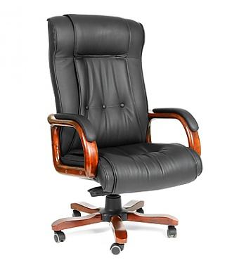 Кожаное кресло руководителя ch-653