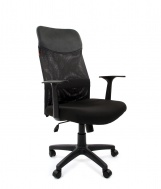 Кресло CHAIRMAN 610 LT (чёрное)