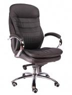 Кресло VALENCIA чёрное, экокожа