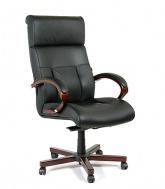 Кресло руководителя кожа ch-421